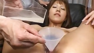 Arika Takarano Asian chick is fucked hard in