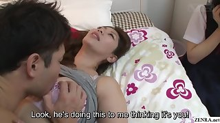 Subtitles JAV insane mother daughter sex ed lesson