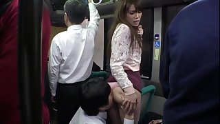 Hot Teen Gets Fucked On The Public Bus