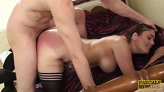 Subslut MILF Leia Organa spanked before rough dicking