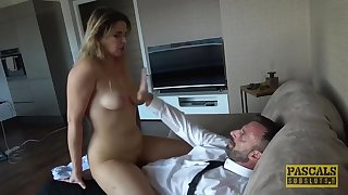 PASCALSSUBSLUTS - BDSM facial Nikky Dream after anal fucking