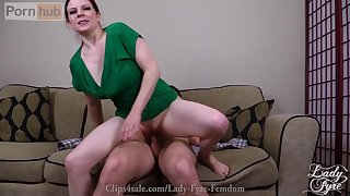 Making Your Little Step Brother -Lady Fyre FULL CLIP